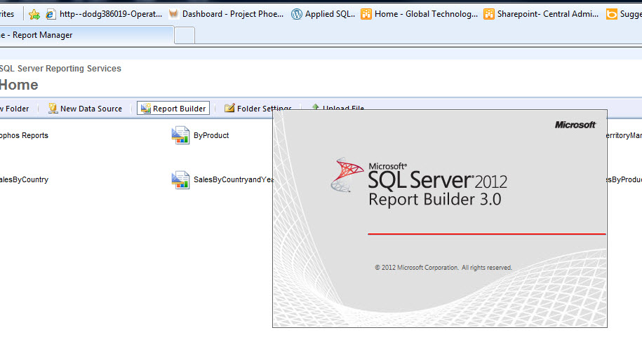 how to create ssrs report in sql server 2012