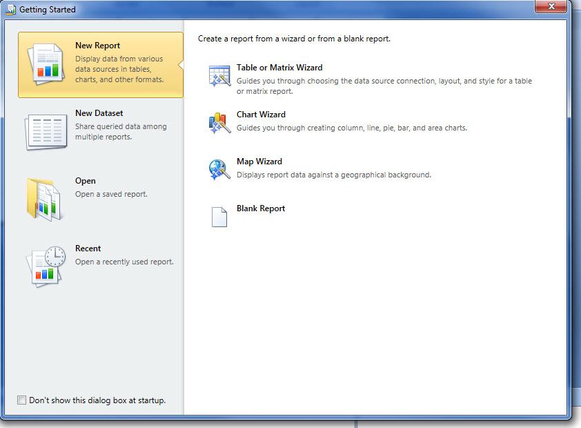 How To Create A Report Using Sql Server 2012 Reporting Services